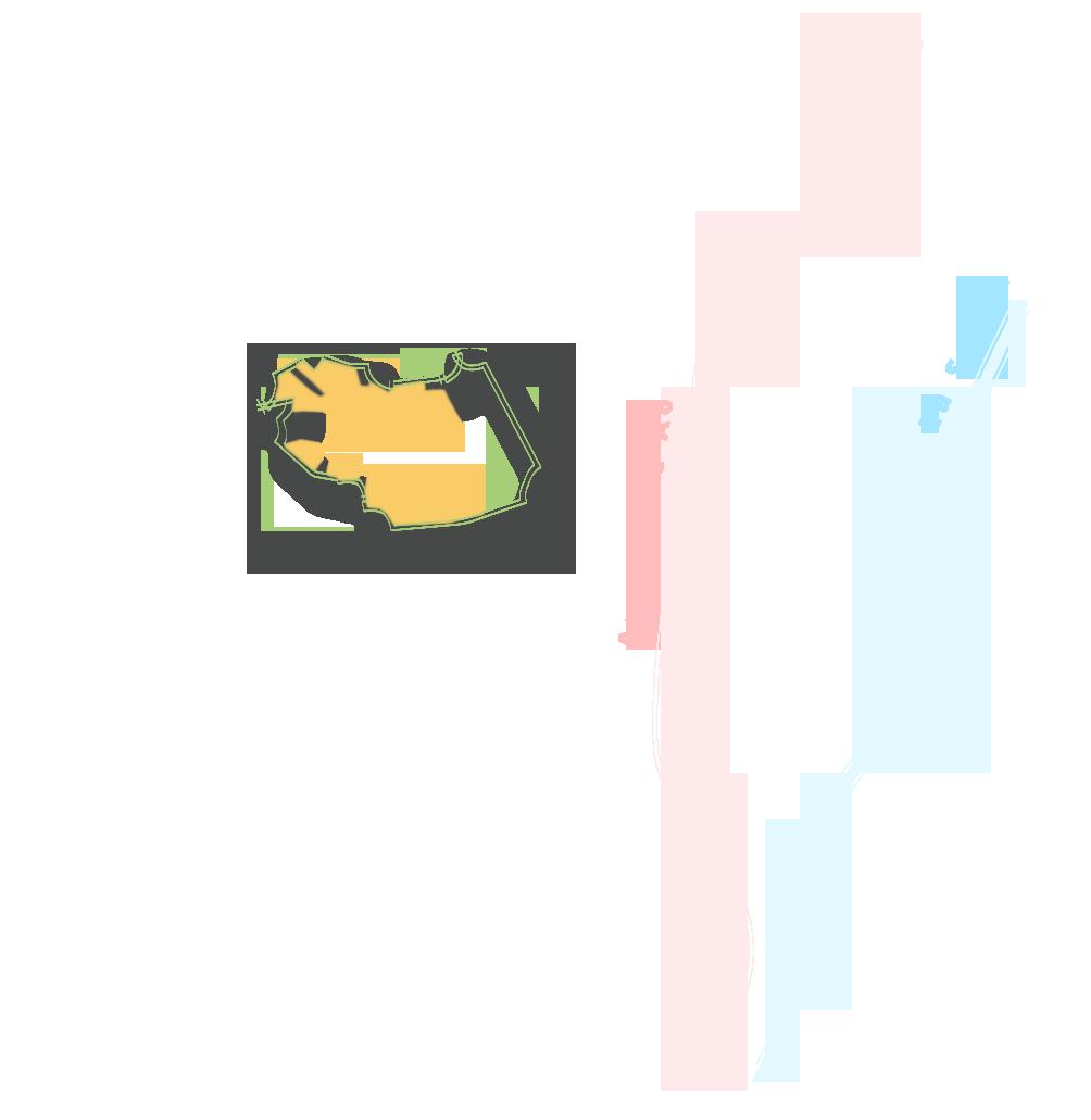 carte de zone de fond